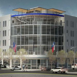 FWPOA Office Bldg. rendering, Ft. Worth,