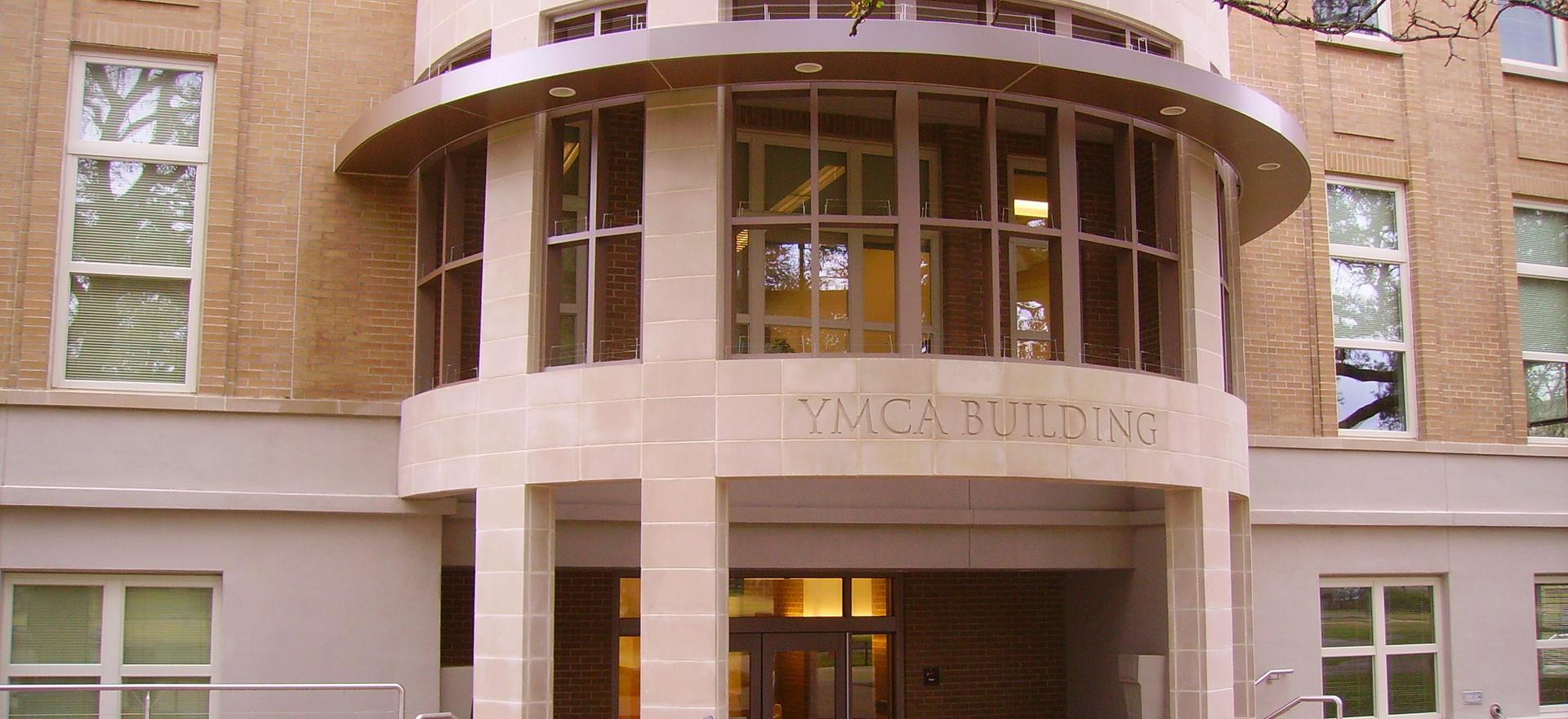 TAMU YMCA Bldg. Addition Portico