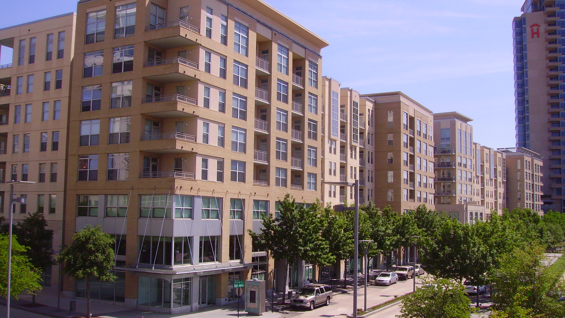 Vista Apts, Terraces Condos & Retail, Victory Park