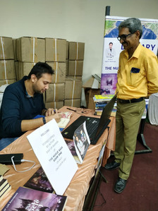 Author Saif at Kitab's Lover Event