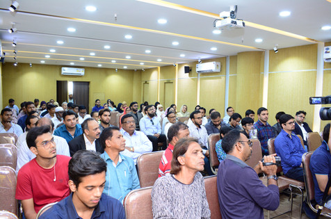 Audience at the Book Launch Event