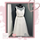 Thumbnail: Size 22 Illusion Neckline Wedding Dress