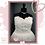 Thumbnail: Size 22 Ivory Strapless Wedding Dress with Beaded Belt