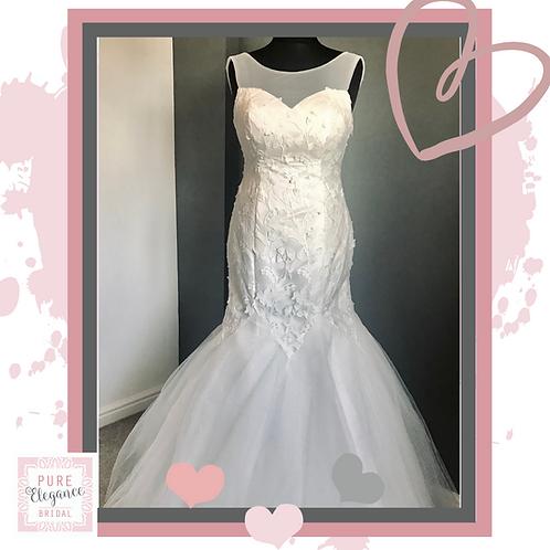 Size 16 Mermaid/Trumpet Style Wedding Dress