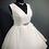 Thumbnail: Size 18 Ivory Ruffled Tulle Wedding Dress