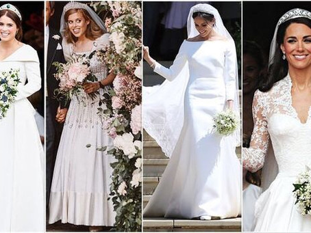 Royal Weddings - which Princess wore it best?