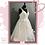 Thumbnail: Size 22/24 Champagne & Ivory Ruffle Wedding Dress