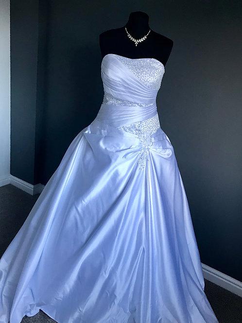 Size 14 White Wedding Dress