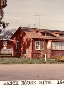 Thode home in 1968