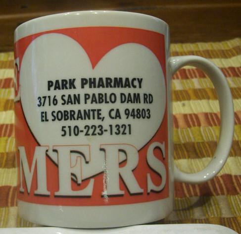 Park Pharmacy Mug