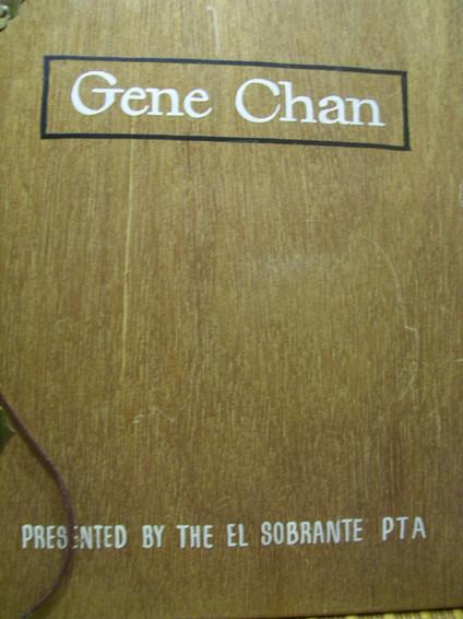 P.T.A. Award, Gene Chan