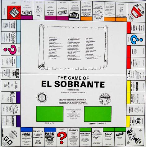 El Sobrante Monopoly Game