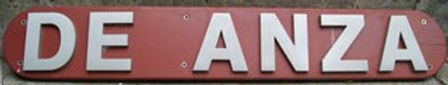 Old DA sign which was located at school entrance