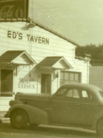 Ed's Tavern, c. 1940
