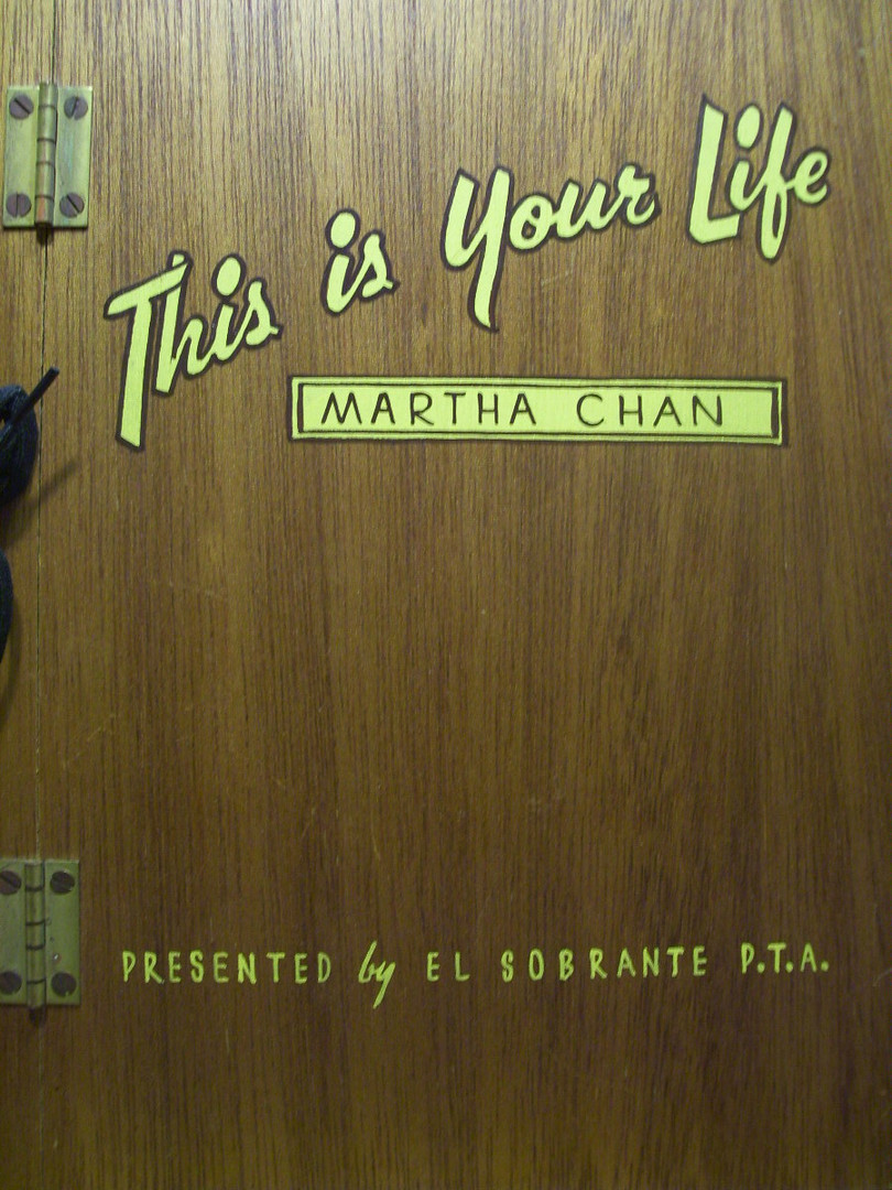 P.T.A. History-Martha Chan
