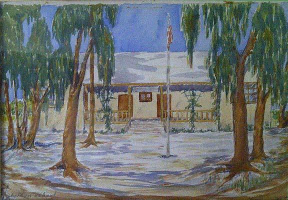 Sheldon School Watercolor, 1949