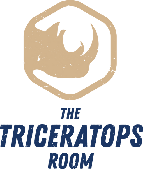 Triceratops Room Logo