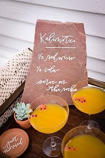 bohemian-styled-colorado-wedding-beverag