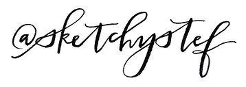 Denver wedding calligraphy
