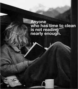 READING VS CLEANING