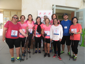 Nordic Walking group from Seville