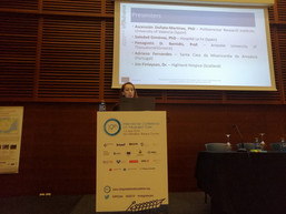 Project Manager presenting InAdvance project at ICIC19 in San Sebastian