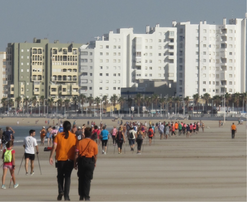 Nordic Walking in Cadiz