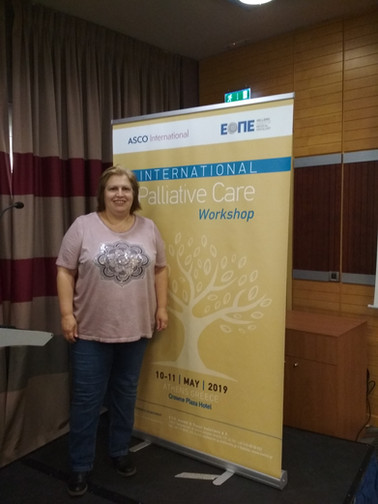InAdvance at International Palliative Care Workshop in Athens May 2019