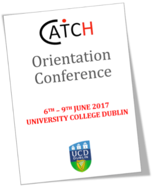 CATCH Orientation Conference