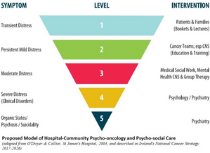 Proposed Model of Hospital-Community Psycho-oncology and Psycho-social Care