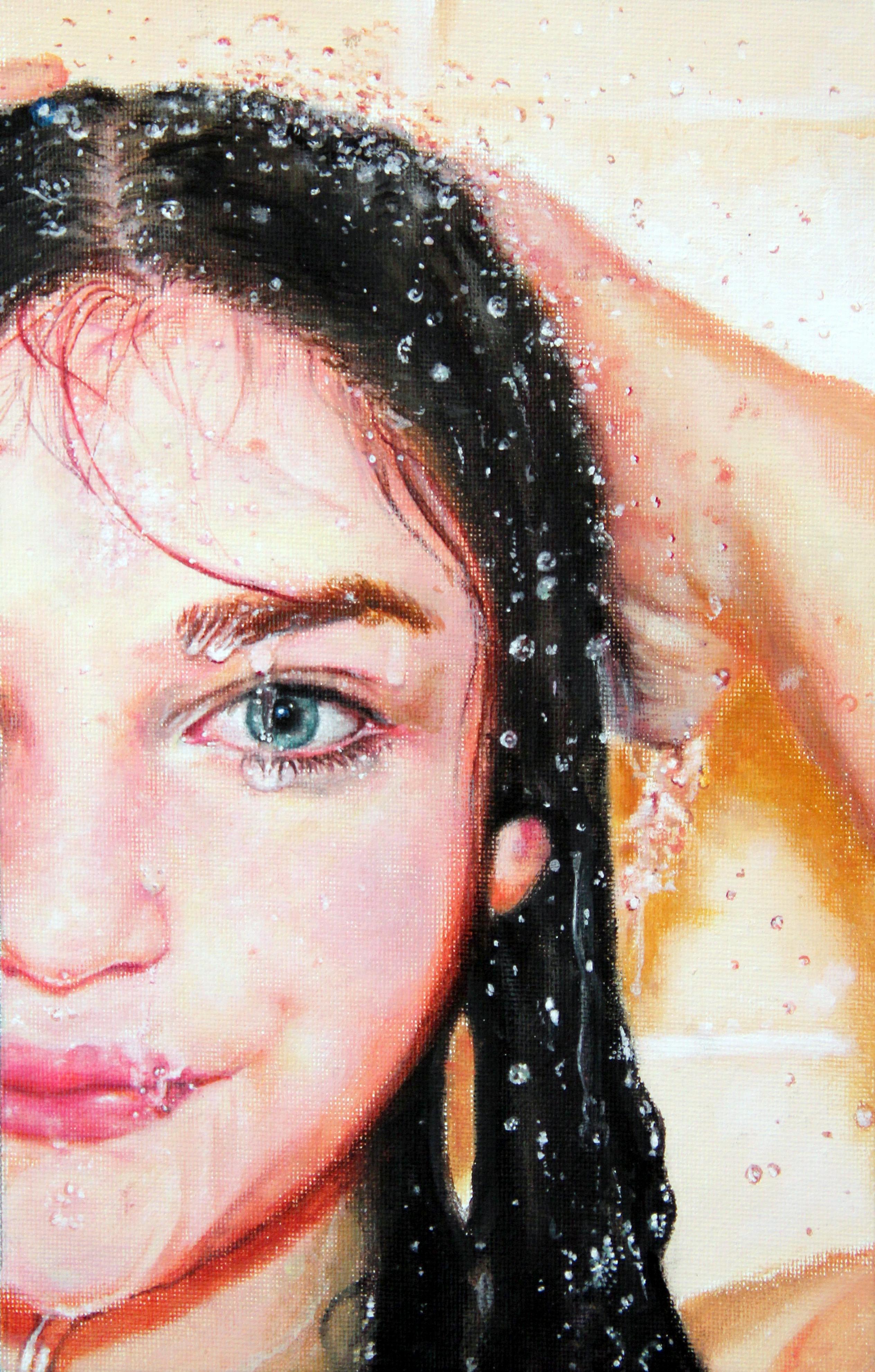 shower portrait