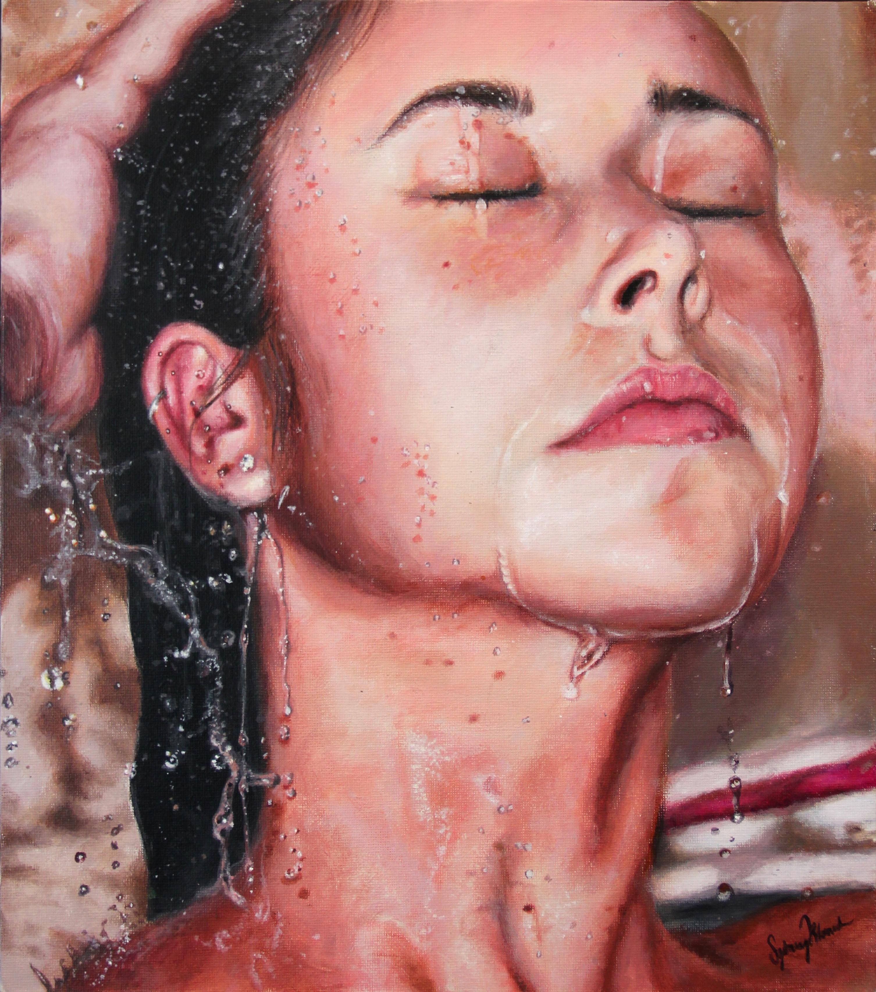 julia shower