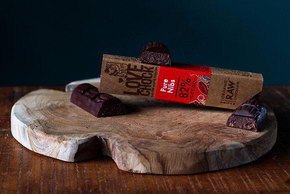 Raw chocolade Lovechock - Pure Nibs