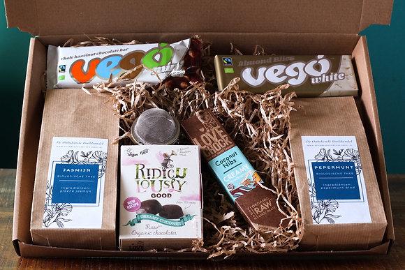 Brievenbuspakket - Thee & chocolade MELK