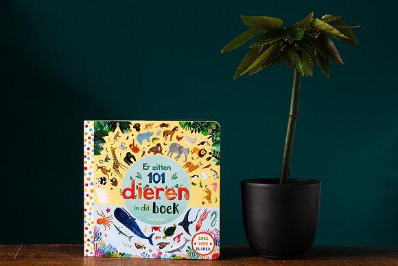 Rebecca Jones - Er zitten 101 dieren in dit boek