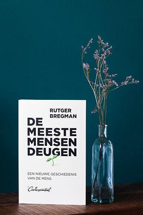 Rutger Bregman - De meeste mensen deugen