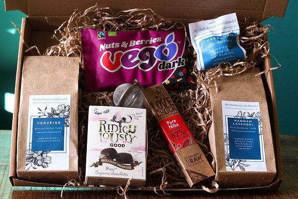 Brievenbuspakket - Thee & chocolade PUUR