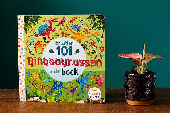Rebecca Jones - Er zitten 101 dinosaurussen in dit boek
