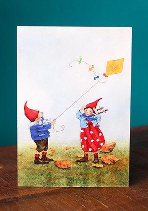 Pippa en Pelle vliegeren
