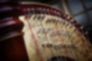 Design on my Camac Athena pedal harp