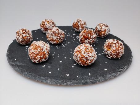Energyballs met dadel en kokos