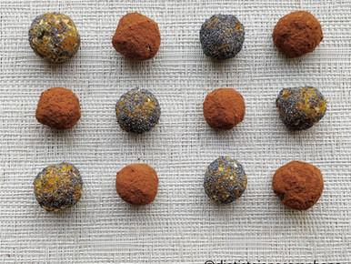 Energybal met abrikoos