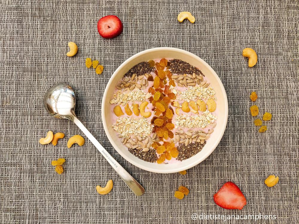 lekker en gezond ontbijt!