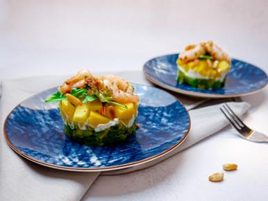 Avocado-mangotorentjes