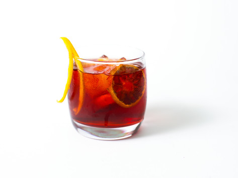 The perfect Spring Negroni