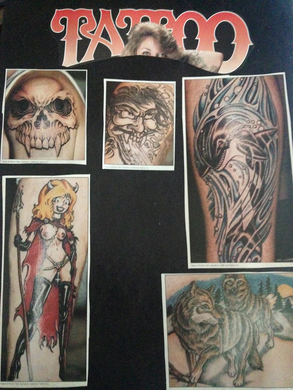 Flash from Tattoo Magazine April 1994