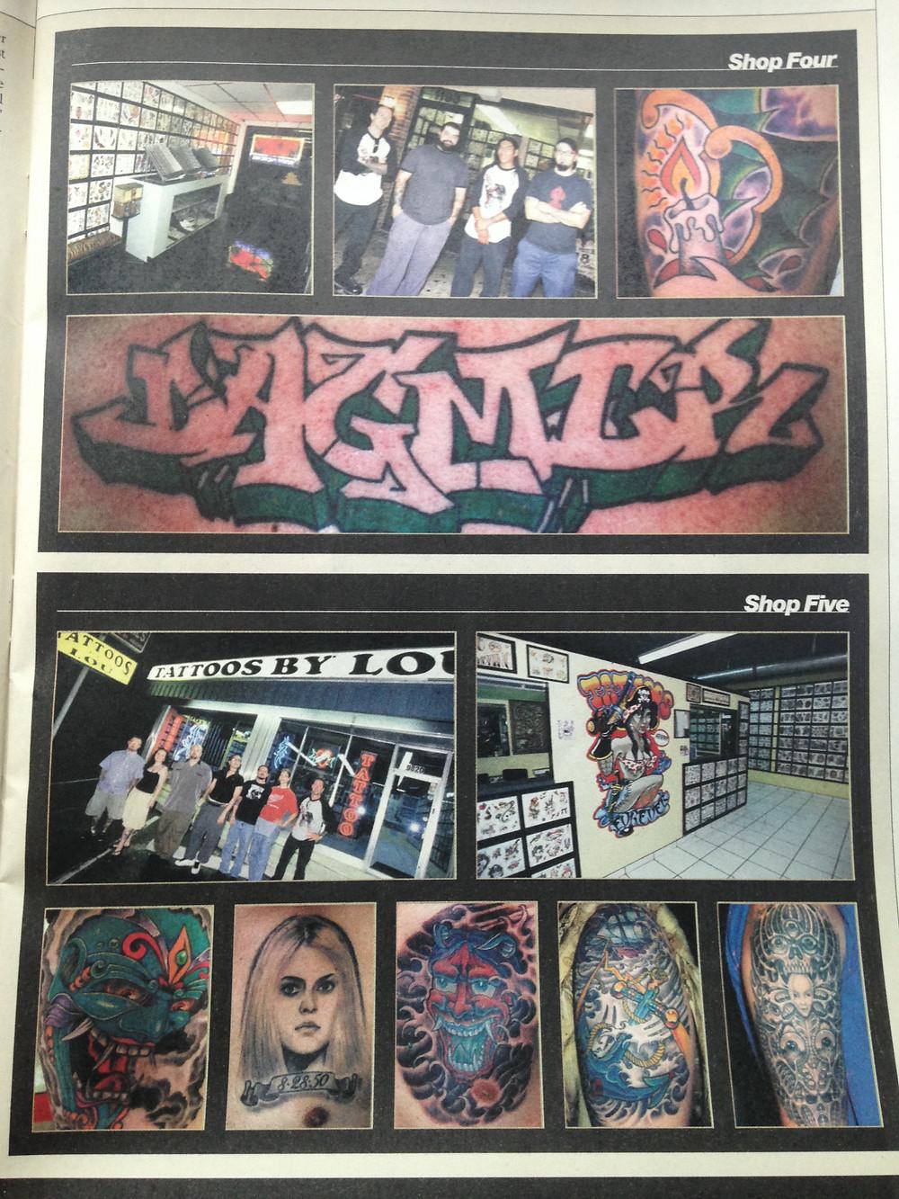 Tattoo Magazine October 2004