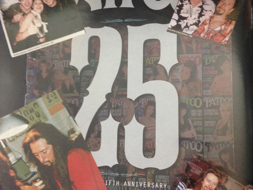 TATTOO MAGAZINE'S 25TH ANNIVERSARY ISSUE