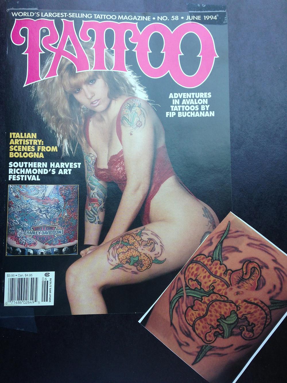 Tattoo Magazine June 1994