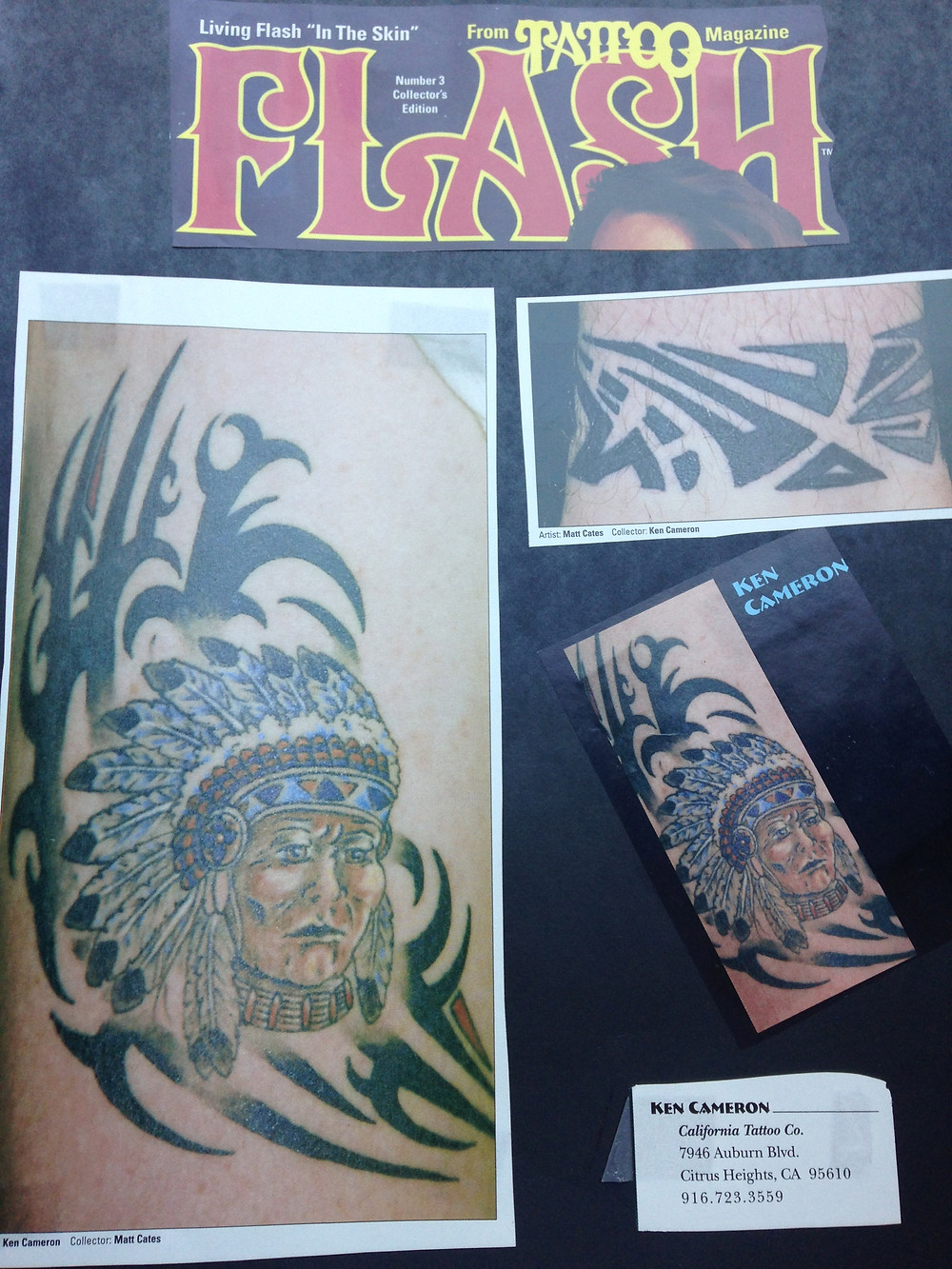 Tattoo Flash Magazine May 1994